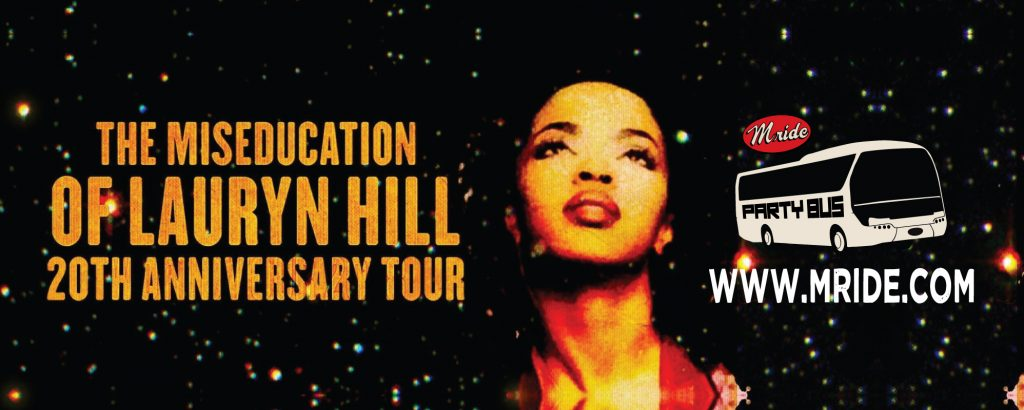 Shoreline Amphitheater Party Bus: Lauryn Hill