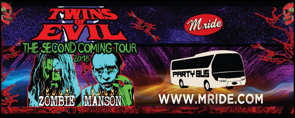Marilyn Manson Party Bus to Concord Pavilion