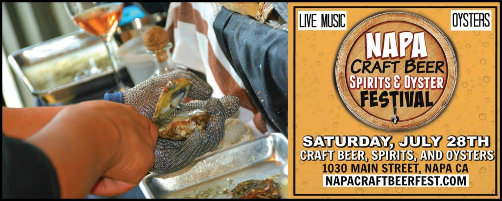 Napa Craft Beer, Spirits & Oyster Festival