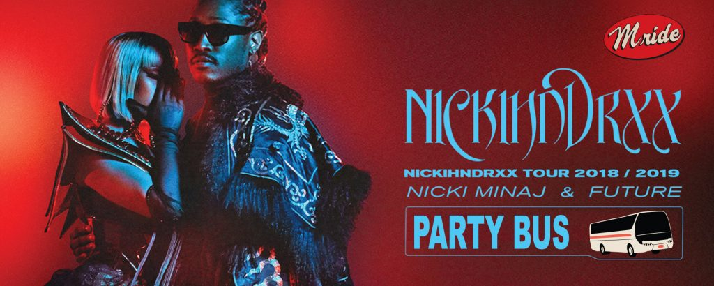 Nicki Minaj & Future SAP Center Shuttle Bus