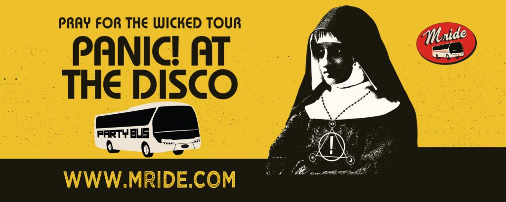 Panic at the Disco Party Bus