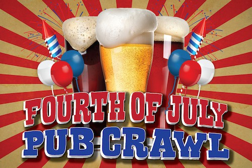 San Francisco Fourth of July Pub Crawl
