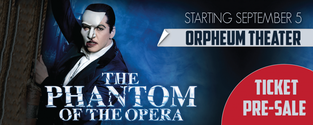 Phantom of the Opera at Orpheum Theater San Francisco