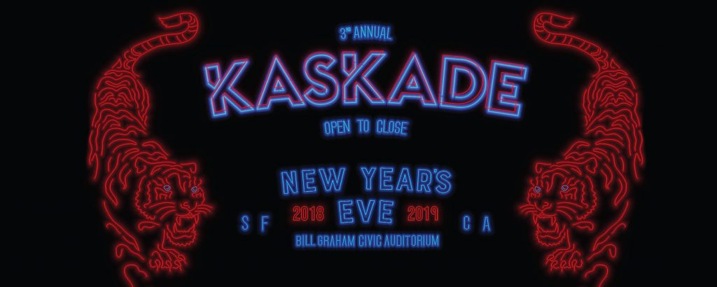 Kaskade New Year's Eve San Francisco at Bill Graham Civic Auditorium