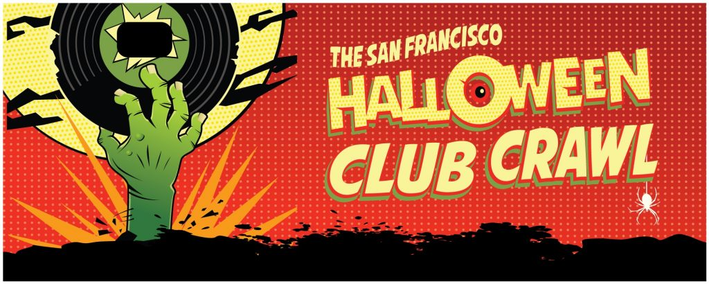 San Francisco Halloween Club Crawl 2019