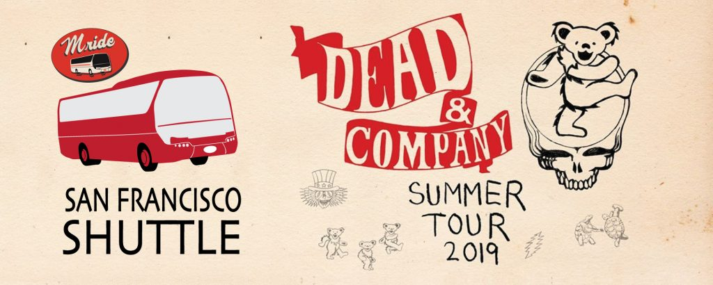 Dead & Company Party Bus to Shoreline Amphitheater (DAY 2)