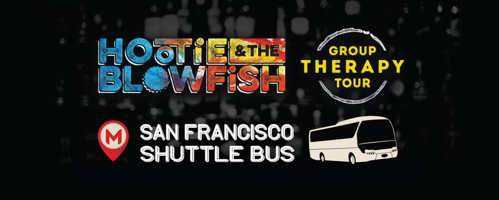 Hootie and the Blowfish Shuttle Bus to Shoreline Amphitheater