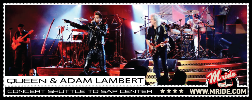 Queen & Adam Lambert Shuttle Bus to SAP Center