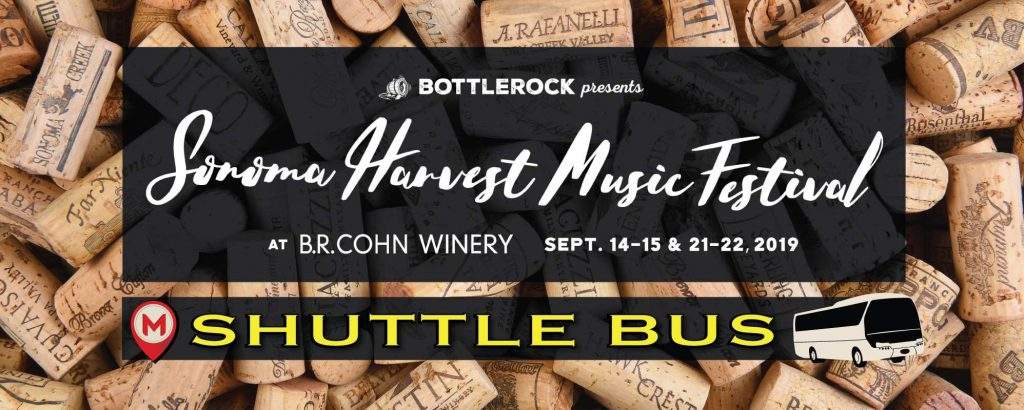 Sonoma Harvest Festival Shuttle Bus – Weekend 1