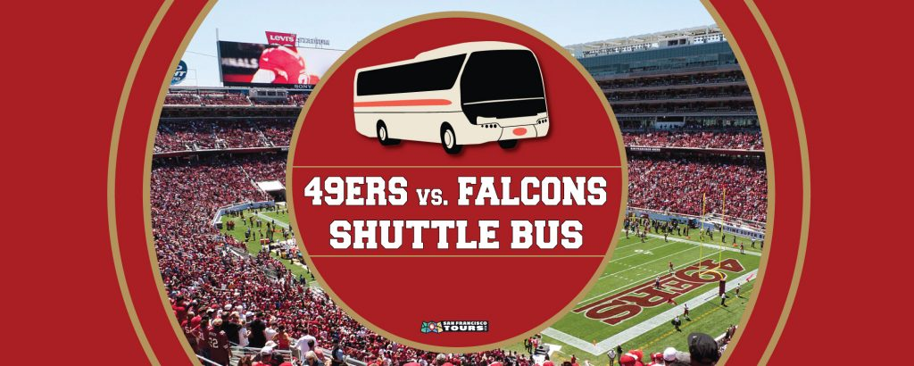 Niners vs. Falcons Shuttle Bus to Levi's Stadium