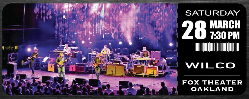 Wilco at Fox Theater Oakland